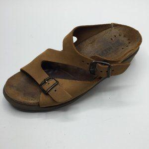 Mephisto Suede Walking Sandals